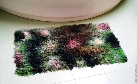 Текстиль, ковры ручной работы. Ярмарка Мастеров - ручная работа. Купить Коврик ручной работы, коврик для ванны, прикроватный коврик. Handmade.
