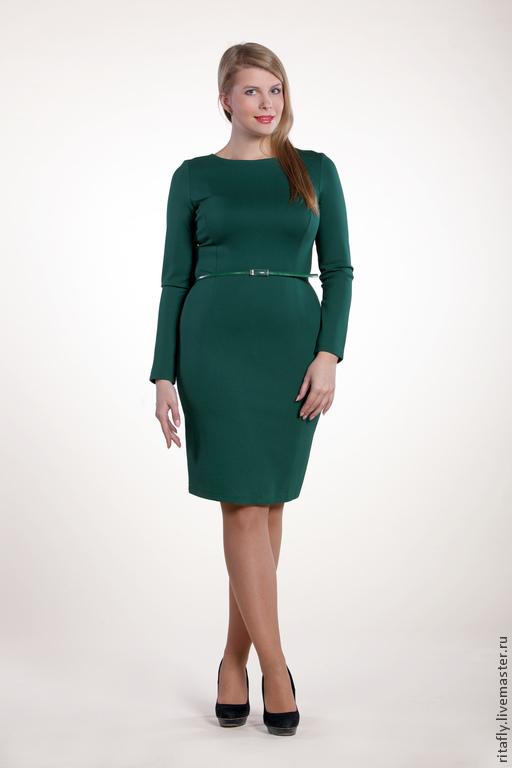 81212f4f83c Платья ручной работы. Ярмарка Мастеров - ручная работа. Купить 076  базовое платье  футляр ...