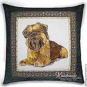 Для дома и интерьера handmade. Livemaster - original item Portrait of a dog .