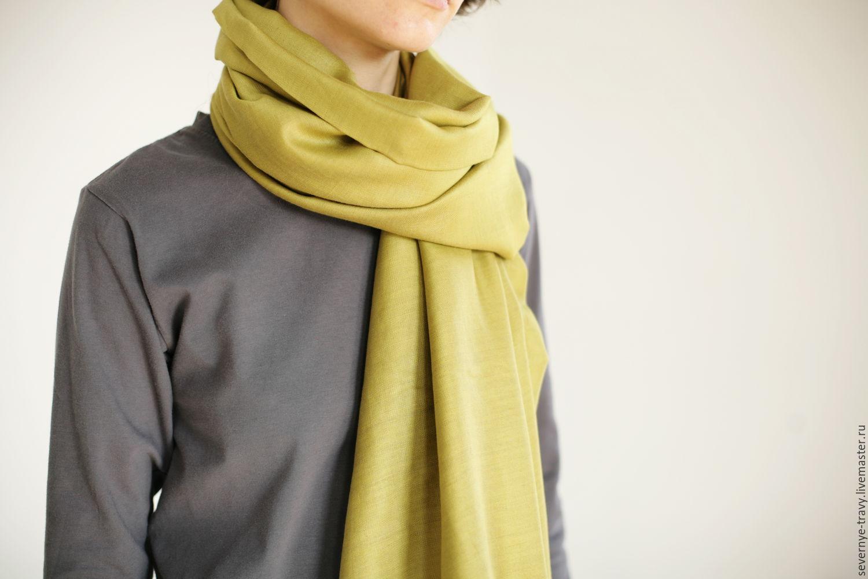 Зеленый шелковый платок, Платки, Владимир, Фото №1