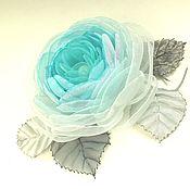 Украшения handmade. Livemaster - original item Windy Rose. Brooch - fabric flower. Handmade.