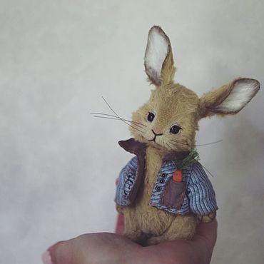 Материалы для творчества ручной работы. Ярмарка Мастеров - ручная работа Выкройка крольчонка 11 см. Handmade.