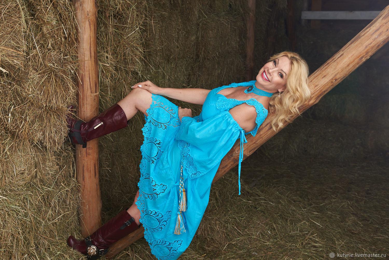 dresses: Goddess Turquoise, Dresses, Moscow,  Фото №1