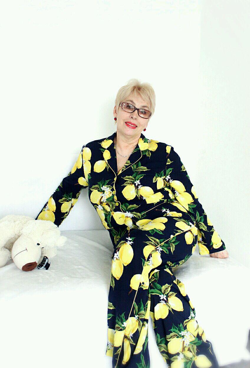 """Женская пижама -домашний костюм для  больших размеров""""Лимончики"""", Кардиганы, Москва,  Фото №1"""