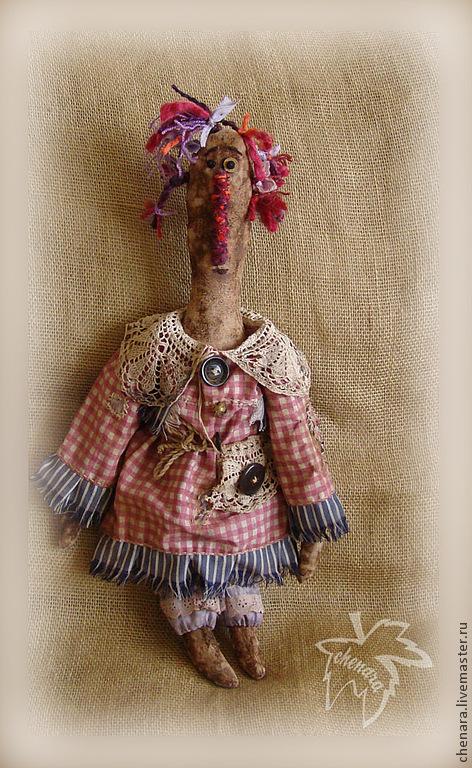 Куклы и игрушки ручной работы. Ярмарка Мастеров - ручная работа. Купить Аманда. Handmade. Примитивная кукла, натуральные материалы, страшилка