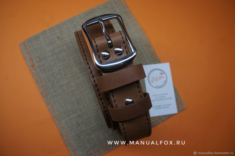 Ремень 35 мм натуральная кожа, Ремни, Новосибирск,  Фото №1