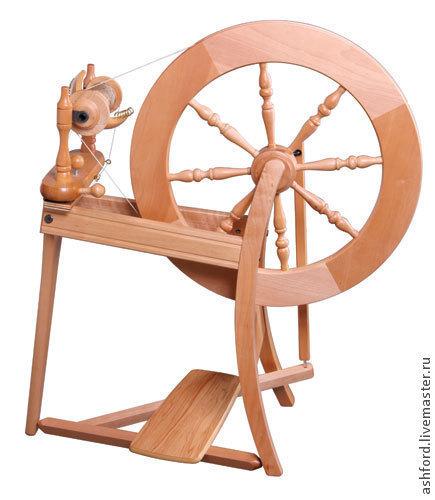 Другие виды рукоделия ручной работы. Ярмарка Мастеров - ручная работа. Купить Прялка Традиционная. Handmade. Золотой, прялка традиционная