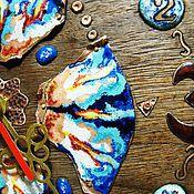 """Для дома и интерьера ручной работы. Ярмарка Мастеров - ручная работа часы """"Сказка странствий """". Handmade."""