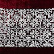 Для дома и интерьера handmade. Livemaster - original item Decorative napkins: track №18. Handmade.