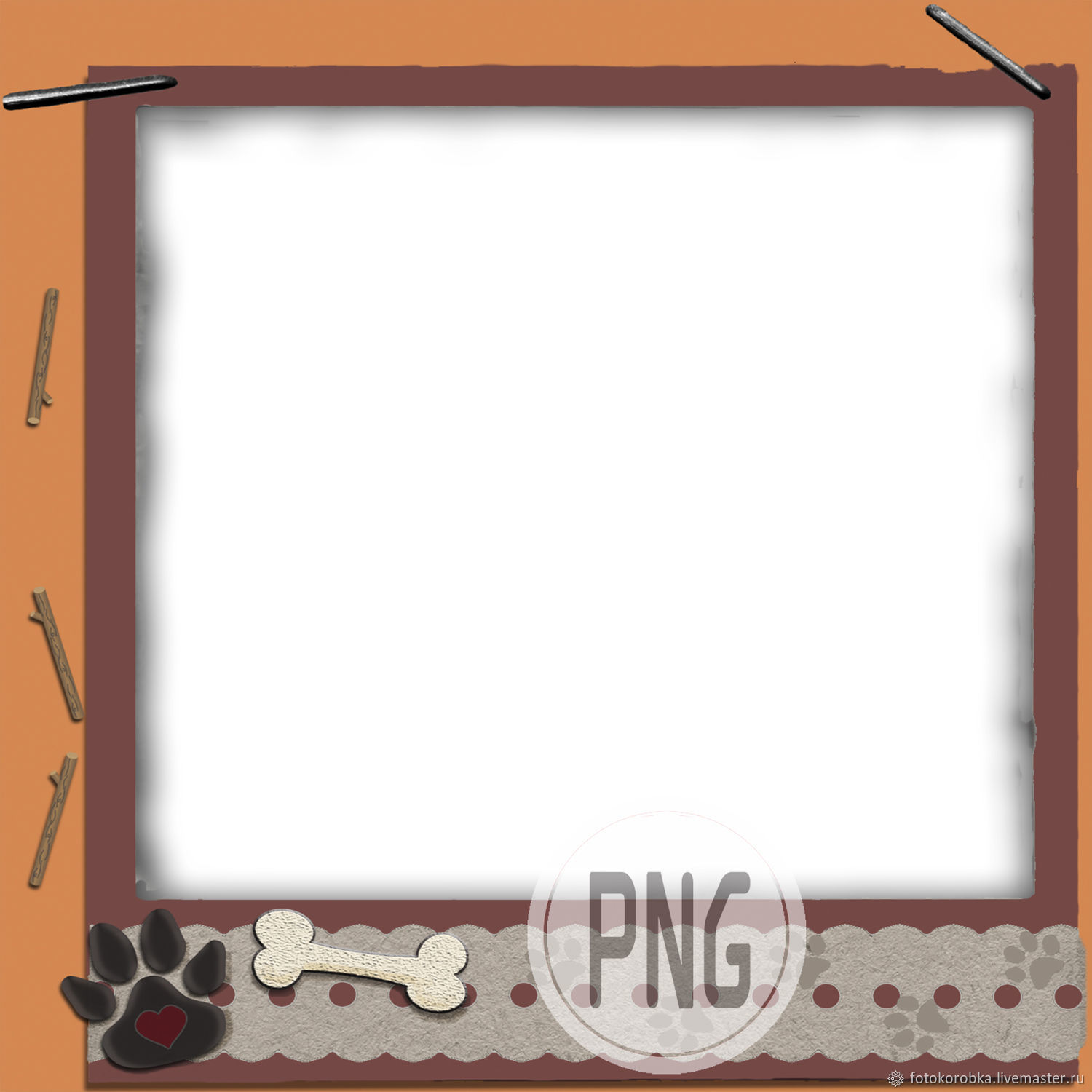 PNG photo frame-dog waltz, Photo, Moscow,  Фото №1