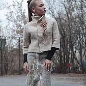 """Одежда ручной работы. Ярмарка Мастеров - ручная работа Жакет """"Vicugna pacos"""". Handmade."""