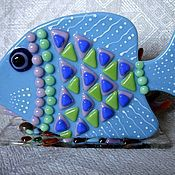Для дома и интерьера ручной работы. Ярмарка Мастеров - ручная работа Салфетница Рыба Счастья. Handmade.