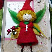 Куклы и игрушки ручной работы. Ярмарка Мастеров - ручная работа Рождественский эльф. Handmade.