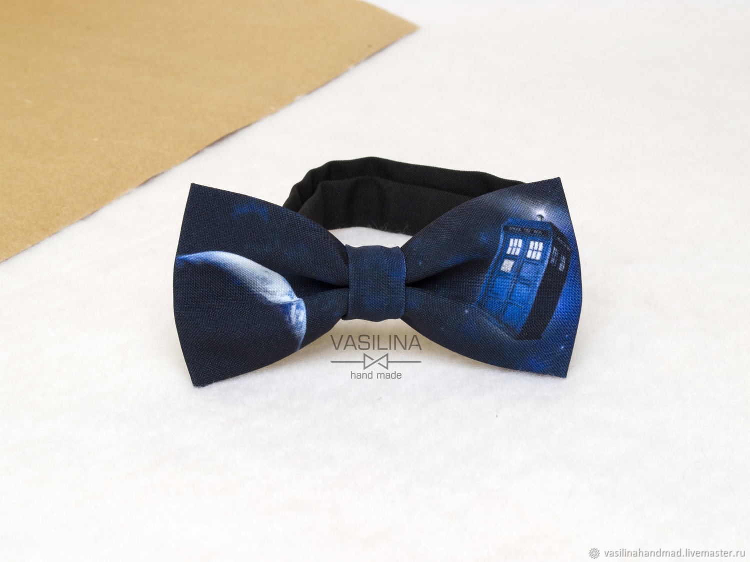 Doctor Who Bow Tie Tardis In E