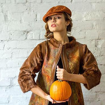 """Одежда ручной работы. Ярмарка Мастеров - ручная работа Пальто """"Осенняя пора"""". Handmade."""