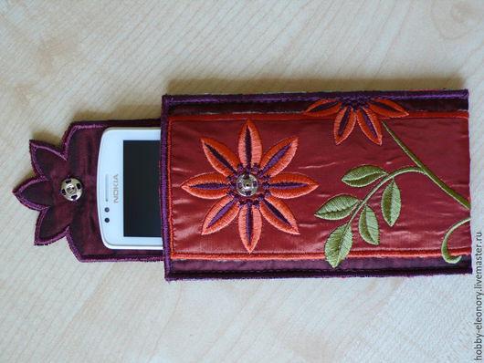 """Для телефонов ручной работы. Ярмарка Мастеров - ручная работа. Купить Чехол для мобильного телефона """"Весна"""". Handmade. Цветочный"""