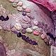 """Шали, палантины ручной работы. Заказать Палантин """"Разноцветные камешки Ехо.."""". Татьяна Барабанщикова (tanyabarab). Ярмарка Мастеров."""