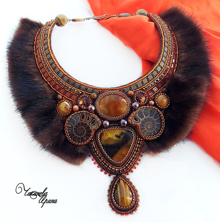Necklace 'Scandinavia', Necklace, Moscow,  Фото №1