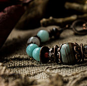 Украшения ручной работы. Ярмарка Мастеров - ручная работа Уединение - браслет. Handmade.