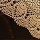 """Текстиль, ковры ручной работы. Заказать Вязаная салфетка """"Скромное очарование деревенской жизни"""". Юлия Кулюкина Чарующие вязаные вещи. Ярмарка Мастеров."""