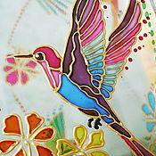 """Для дома и интерьера ручной работы. Ярмарка Мастеров - ручная работа Ваза """"Райские птицы"""". Handmade."""