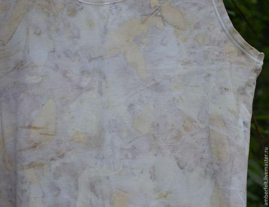 """Топы ручной работы. Ярмарка Мастеров - ручная работа. Купить Майка - топ """"Прохлада"""", в эко стиле.. Handmade. Белый"""