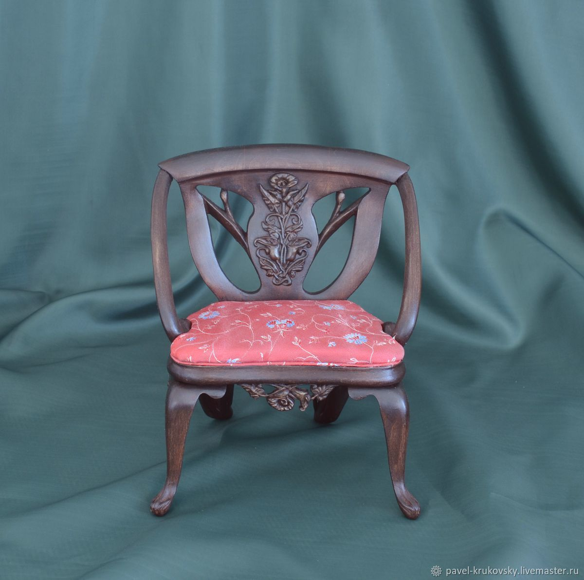 Miniature chair ' Elegia', Dolls, Vladimir,  Фото №1