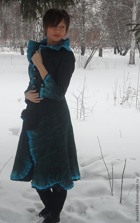 """Верхняя одежда ручной работы. Ярмарка Мастеров - ручная работа. Купить Кардиган из коллекции """"Зимние сады танцующих Нимф"""". Handmade."""