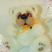 Куклы и игрушки ручной работы. Ярмарка Мастеров - ручная работа Медвежонок Sunny. Handmade.