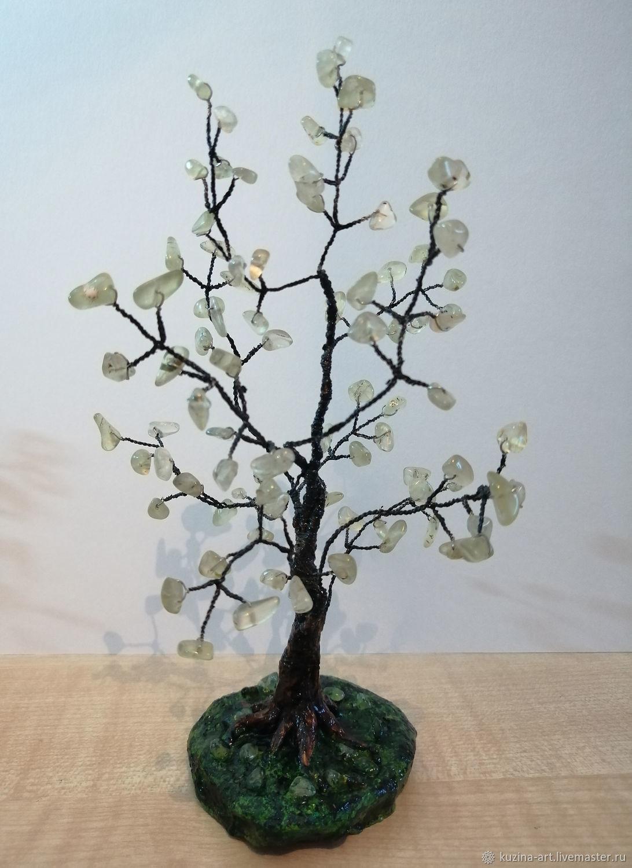 Дерево из натурального камня Пренит, Деревья, Хабаровск, Фото №1
