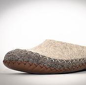 """Обувь ручной работы. Ярмарка Мастеров - ручная работа Тапочки валяные - мокасины """"Апачи"""". Handmade."""
