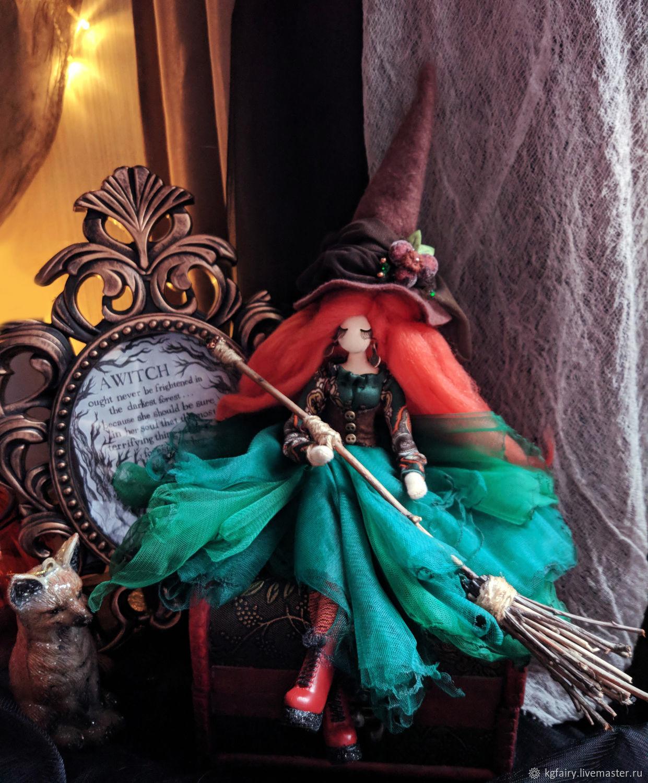 Авторская кукла. Ведьма Клоди, Куклы и пупсы, Москва,  Фото №1