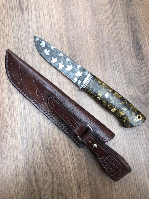 Нож К340 осенний, Ножи, Воскресенск,  Фото №1