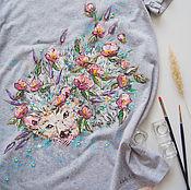 Одежда handmade. Livemaster - original item T-shirt a-line Ezula. Handmade.