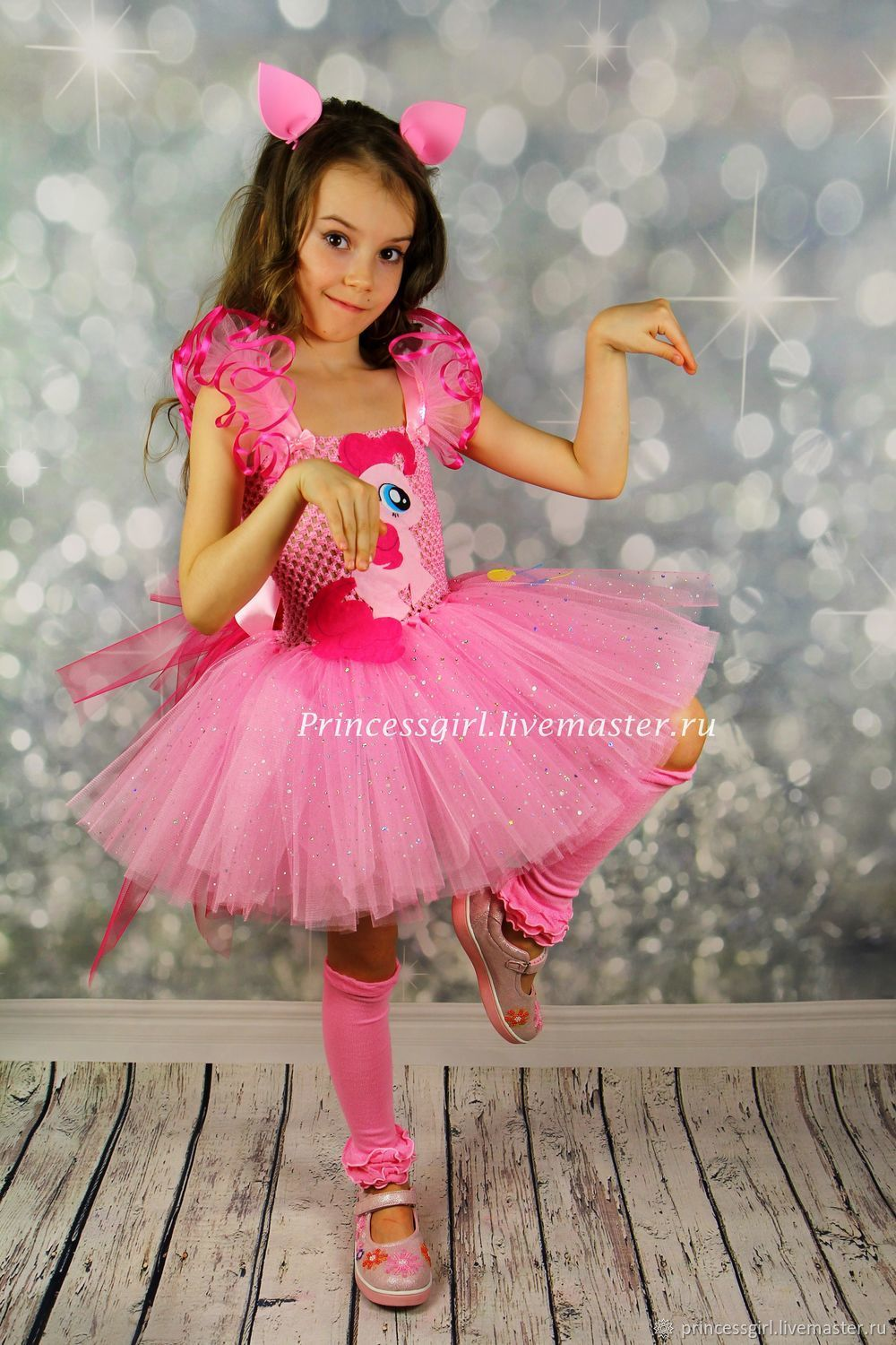 Suit pony Pinkie pie, Carnival costumes for children, Moscow,  Фото №1