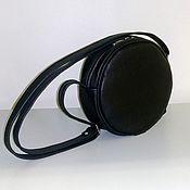 Сумки и аксессуары handmade. Livemaster - original item Bag leather round. Handmade.