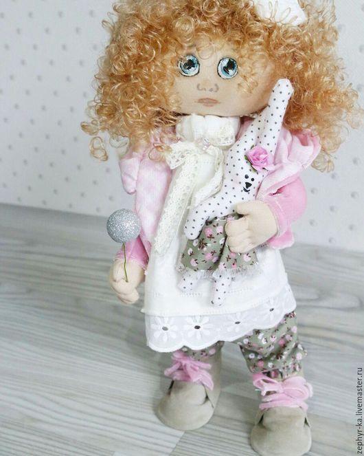 Коллекционные куклы ручной работы. Ярмарка Мастеров - ручная работа. Купить Кукла Милена. Handmade. Кукла в подарок, розовый
