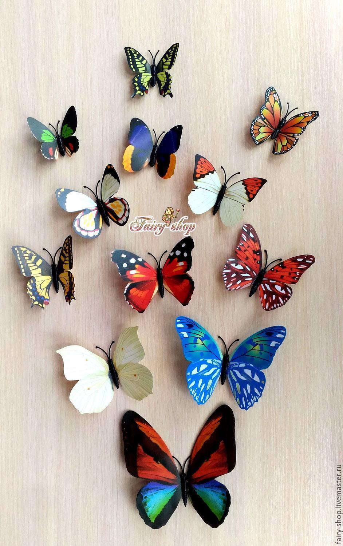 Декоративная бабочка Правильный мир 96