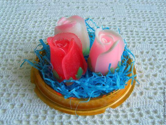 Мыло ручной работы. Ярмарка Мастеров - ручная работа. Купить мыло ручной работы - Розочка. Handmade. Роза, цветы