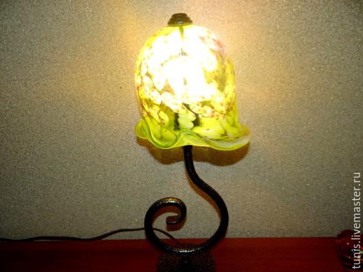 """Освещение ручной работы. Ярмарка Мастеров - ручная работа. Купить Настольная лампа """"New"""". Handmade. Настольная лампа, стеклодув, интерьер"""