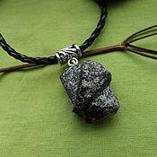 Фен-шуй и эзотерика handmade. Livemaster - original item Pendant with a cross stavrolit. Handmade.
