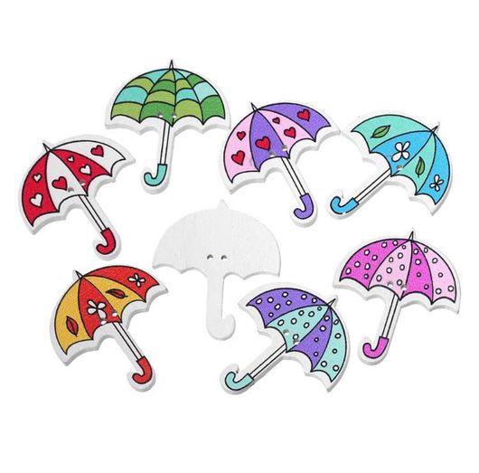 Шитье ручной работы. Ярмарка Мастеров - ручная работа. Купить Пуговицы зонтик. Handmade. Пуговица, пуговицы, пуговицы декоративные