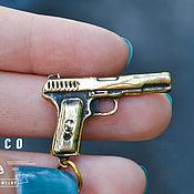 Украшения ручной работы. Ярмарка Мастеров - ручная работа Пистолет. Handmade.