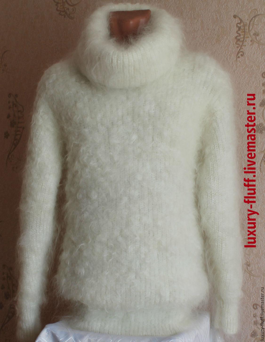 белый вязаный свитер женский купить в интернет магазине на ярмарке