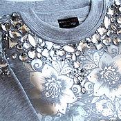 Одежда handmade. Livemaster - original item Sweatshirt RUSiberia. Handmade.