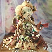 Куклы и игрушки ручной работы. Ярмарка Мастеров - ручная работа Принцесса Эля и ее друг Лис.... Handmade.