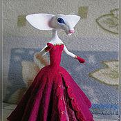Куклы и игрушки ручной работы. Ярмарка Мастеров - ручная работа Кошки Дамы 2. Handmade.