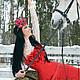 Платья ручной работы. Аленький Цветочек - платье с корсетом. Ксения Jesofa (jesofa-corset). Ярмарка Мастеров. Корсеты, юбка рыбка