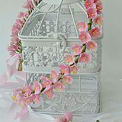"""Свадебный салон ручной работы. Ярмарка Мастеров - ручная работа Венок и браслет """"Розовая мечта"""". Handmade."""