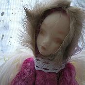 """Куклы и игрушки ручной работы. Ярмарка Мастеров - ручная работа тедди долл """" Грустный ангел""""( друзья тедди, тедди долл, зайка). Handmade."""